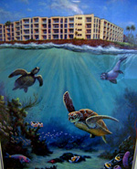 Kuhio Shores Painting by Geof Markovich